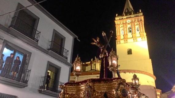 Ntro. Padre Jesús Nazareno y la Virgen de los Dolores, protagonistas en el Jueves Santo valverdeño