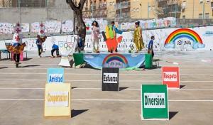 El colegio Onuba, escenario esta semana las VII Olimpiadas Deportivas.