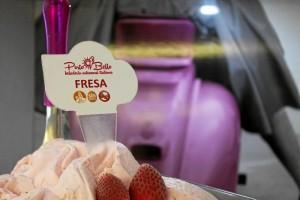 Porto Bello propone degustar su tradicional helado de fresa.