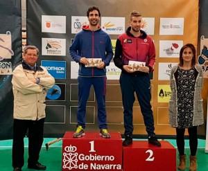 Pablo Abián ganó en Máster Absoluto en Estella, donde Enrique Fernández fue segundo.