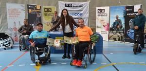 Edorta de Anta y Óscar Agea, los campeones en el torneo celebrado en Punta Umbría.