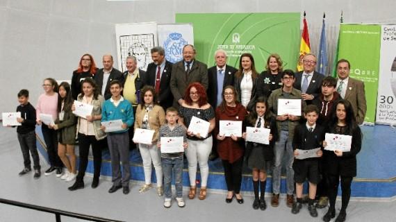 La alumna del IES Doñana de Almonte Rocío López Ramos, reconocida en el concurso nacional 'Sin 'pi' no soy nada'