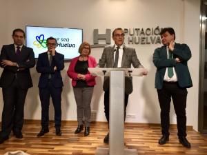 Tres diputaciones, el Puerto de Huelva y el Ayuntamiento de la capital se unen para pedir mejoras en la Huelva-Zafra.
