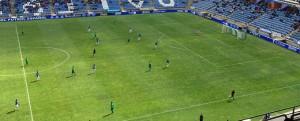 El Recre no pasó del empate sin goles ante el Villanovense. / Foto: H. M.