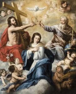 'Coronación de la Virgen', se exhibe en el Museo de Bellas Artes de Sevilla.