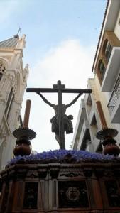 El Cristo de la Misericordia, talla de Gabriel Cuadrado.