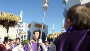 La Virgen del Amor lucirá nuevo manto en 2019.