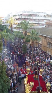Huelva se hace pasión cada Martes Santo.