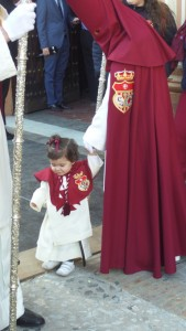 Varios niños han participado en el cortejo.