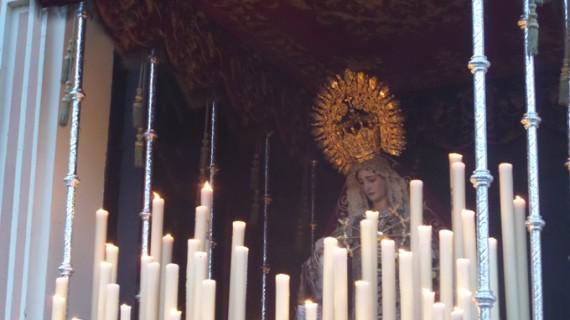 La Diputación y la Hermandad de Los Judíos presentan los trabajos de restauración de la Virgen de La Merced