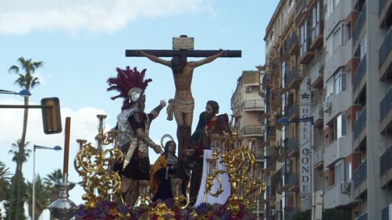 La Hermandad de la Fe clausura con su sabor de barrio el Viernes Santo en Huelva