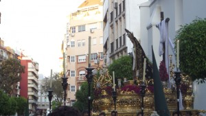 Salida de Nuestra Señora de la Soledad.