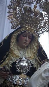 Imagen de la titular de la Hermandad del Viernes Santo.