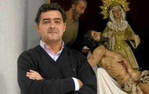 Juan Javier Márquez Cabeza, Hermano Mayor de la cofradía.