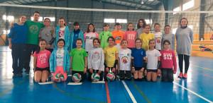 Representantes sanjuaneros en el Campeonato de Andalucía Promesas y el Open Promesas 2018 de voleibol.