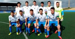 Equipo de fútbol de la UHU, clasificado para la fase final del Andaluz Universitario.