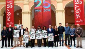 Un momento de la presentación en el Campus de La Merced de los Campeonatos de Andalucía Universitarios.