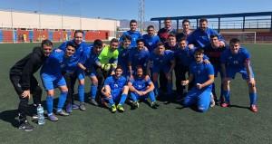 El equipo masculino de fútbol de la Universidad de Huelva se colgó el bronce.