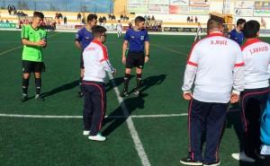 Prolegómenos del partido Utrera-Atlético Onubense que se saldó con empate a uno. / Foto: @UTRERACD.