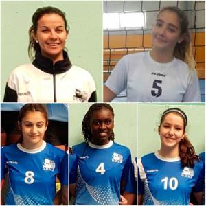 De arriba a abajo, y de izquierda a derecha: Mayte Flores, Andria Gómez, Laura Uranga, Isabel Konaire y Claudia Mazo.