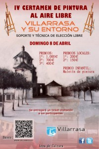 Cartel del certamen 'Villarrasa y su entorno'.
