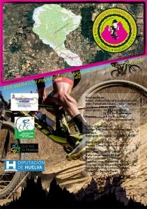 Cartel anunciador de la XVII Maratón BTT Pinares de Cartaya.
