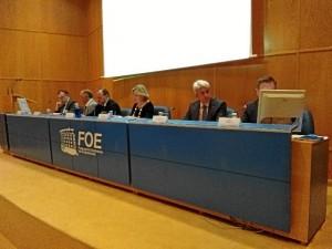 Asamblea de la FOE.
