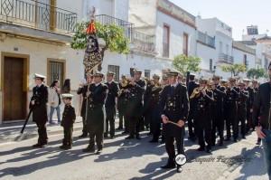 La hermandad por primera vez contará con la Banda de Cornetas y Tambores Vera+Cruz de Los Palacios (Sevilla).
