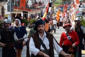Todo listo para la Feria Medieval del Descubrimiento de este fin de semana.