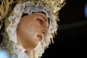 Nuestra Señora del Valle, reluciente en su salida procesional.