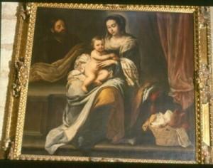 'La sagrada familia' de Juan Ruiz se atribuyó a Murillo durante mucho tiempo.