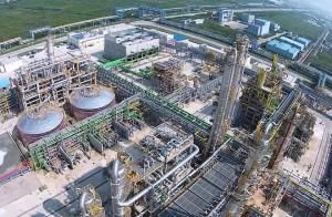 Los técnicos de Huelva se han desplazado a Shanghai a poner en funcionamiento el laboratorio de su planta química.