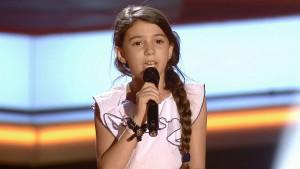 La pequeña Nora López, también de Almonte. / Foto: Tecinco.