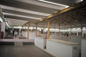Imagen del interior del Mercado de Minas de Riotinto. / Foto: IAPH.