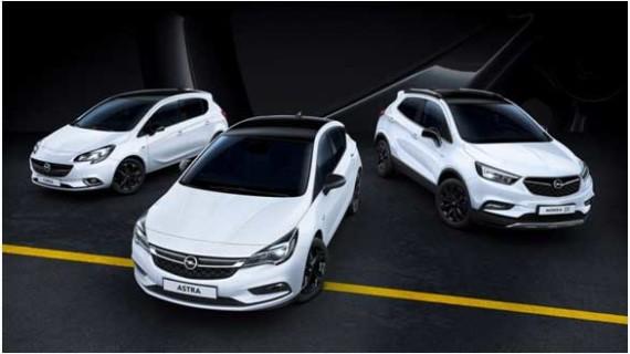 'Black Edition': modelos Opel con un estilo especial