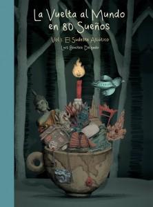 Portada del primer volumen de 'La vuelta al mundo en 80 sueños', de Luis Benítez.