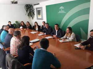 José Antonio Cortés ha mantenido una reunión con los alcaldes de los municipios que contarán con nuevas EDARs.