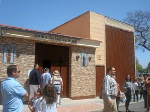 El Ayuntamiento ha cedido a la hermandad por 75 años los terrenos anexos a la iglesia.