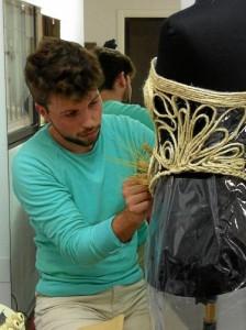El diseñador de moda Juan Manuel Delgado Pérez.