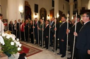 Nueva junta de gobierno de la Hermandad de San Isidro.