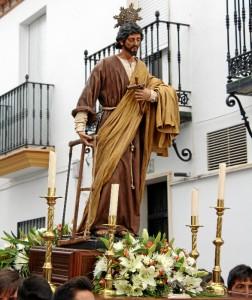 Este jueves tendrá lugar el traslado del Santo desde la ermita en Triana a la Iglesia Parroquial.