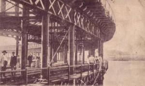 Imagen animada del Muelle tomada en el umbral del siglo XX.