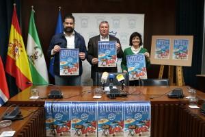 El alcalde de Cartaya ha presentado la VII edición del Concurso de Paellas 'El Barrilete'.