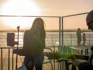 Hace unas semanas actuó en Huelva con el proyecto María Lenove.