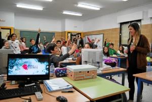 Charla informativa a los alumnos de 6º de primaria del colegio Hermanos Pinzón.