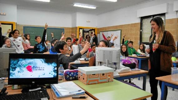 La Comunidad de Regantes Palos de la Frontera comienza el programa educativo Aquafresi