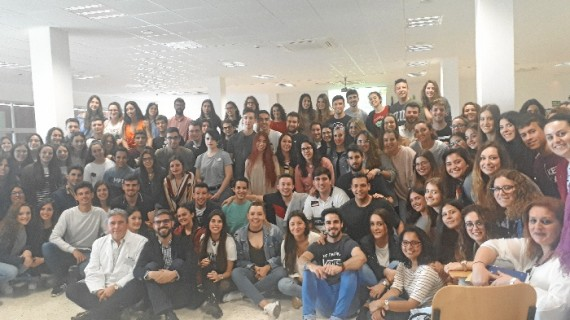 Los Centros Sanitarios de Huelva dan la bienvenida a 130 alumnos de enfermería