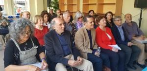 Numerosos autores han participado en el acto.