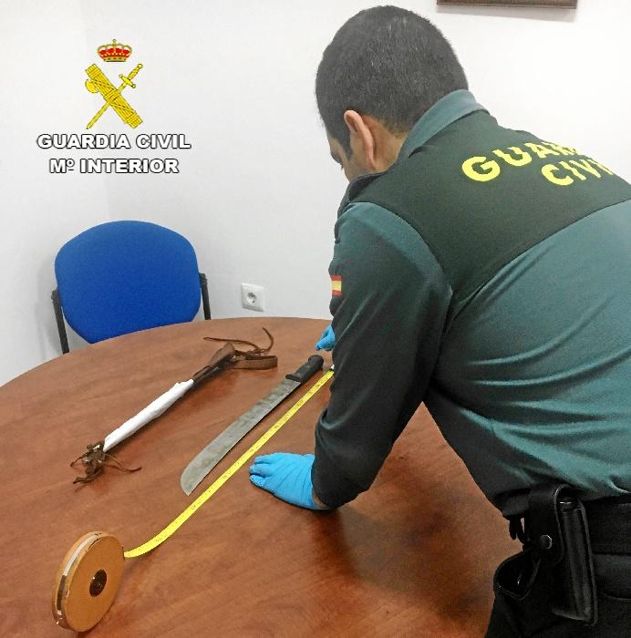 Operación realizada por la Guardia Civil y la Policía Local de Cartaya.