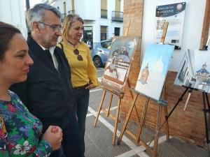 Celebran del I Encuentro comarcal de talleres municipales de pintura.